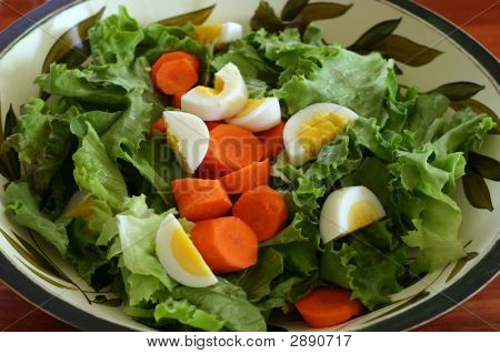 Salad In A Salad Bowl
