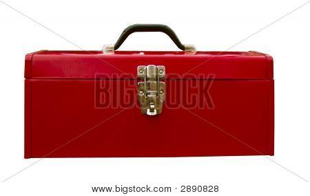 Caixa de ferramentas vermelha
