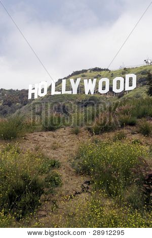 Hollywood Sign in Hollywood, California