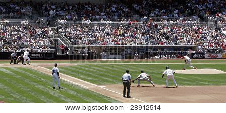The Game Of Baseball - San Diego Padres Versus The St. Louis Cardinals