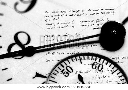 Clock Face And Physics Writings