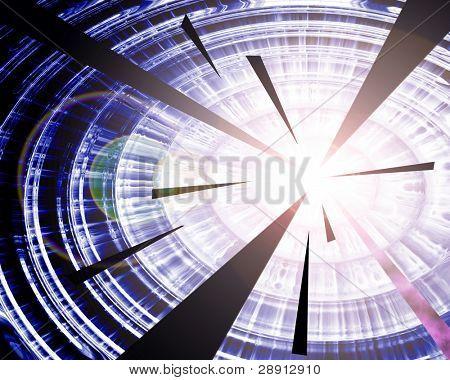 Supernova Explosion - A digital abstraction