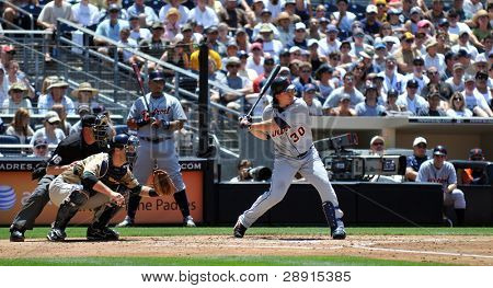 June 22nd, 2008 - Detroit Tigers slugger Magglio Ordonez during a game versus the San Diego Padres.