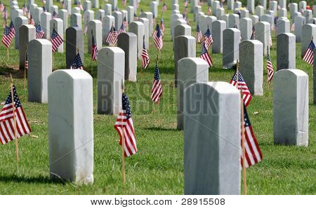 Remembering Fallen Heroes - Fort Rosecrans National Cemetery - San Diego California.