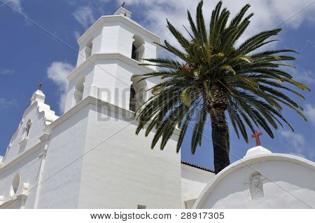 Mission San Luis Rey in Oceanside, California, USA