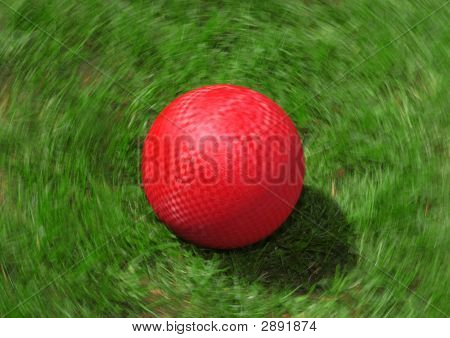 Red Playground Ball