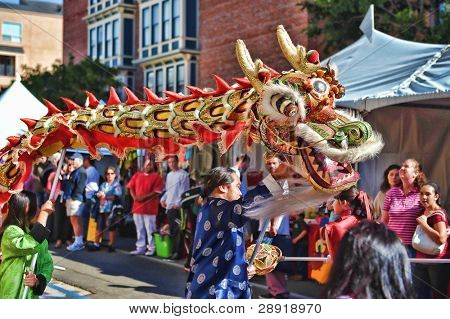 SAN DIEGO, CALIFORNIA - FEBRUARY 12: Parade participants in the 29th annual celebration of the Chinese New Year on February 12, 2010 in Diego, California.