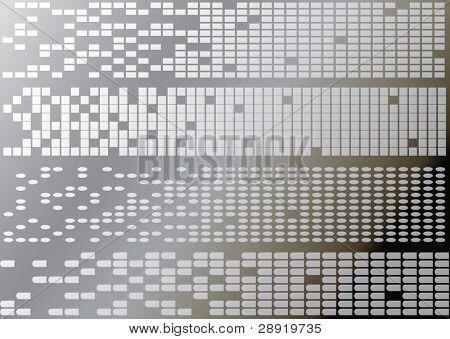 four digital background