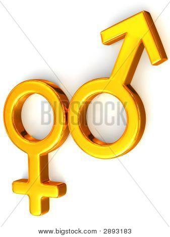 Symbol Men And Women. Love