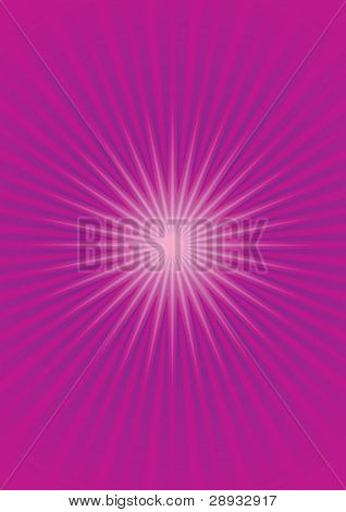 Vector illustration of a Starburst