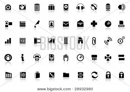 Web icons - internet icon collection