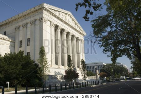 Us Supreme Court - Eastern Facade