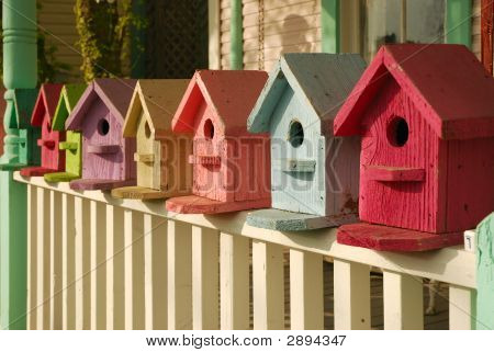 What Color Is Your Birdhouse