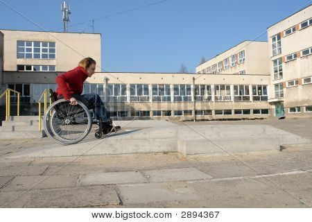 Wheelchair Ride Practice