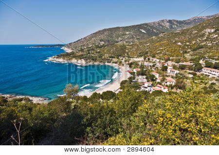 Cavoli Beach, Marina Di Campo, Isle Of Elba, Italy.