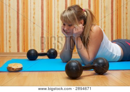 Fitness Training  Vs. Sandwich