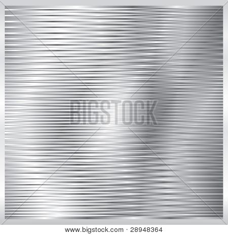 vector abstract composition with shiny metal plate