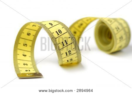 Tailor Measuring Tape Isolated