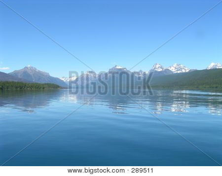 Lake Mcdonald From Boat