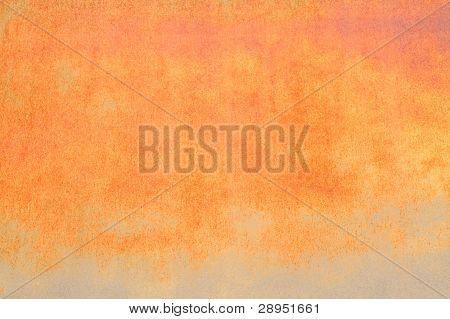 Vivid Orange Industrial Rust Texture Background