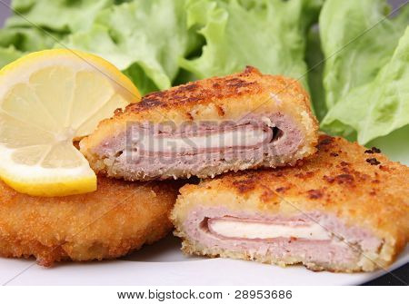 fried cordon blue