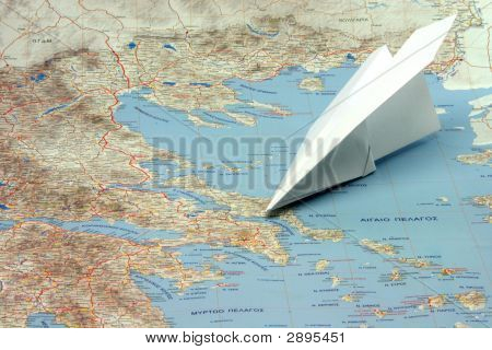 Travel To Greece By Plane