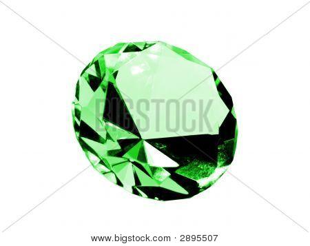 Isolated Emerald