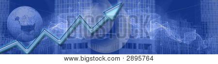 Banner Business und wachsenden Erfolg