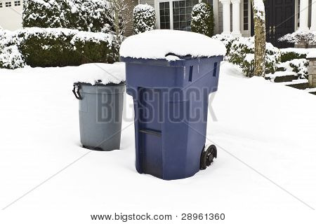 Recycling In All Weather