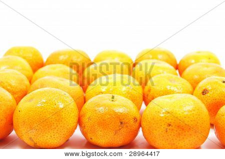 arrangement of orange