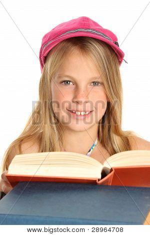 Chico encantador y libros