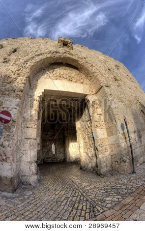 Tzion Gate Of The Old City