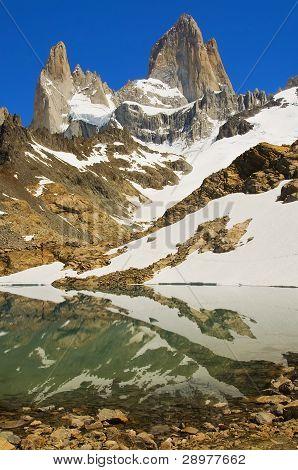 Mount Fitz Roy,patagonia, Argentina