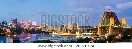 Sydney Skyline - Observatory Hill Panorama