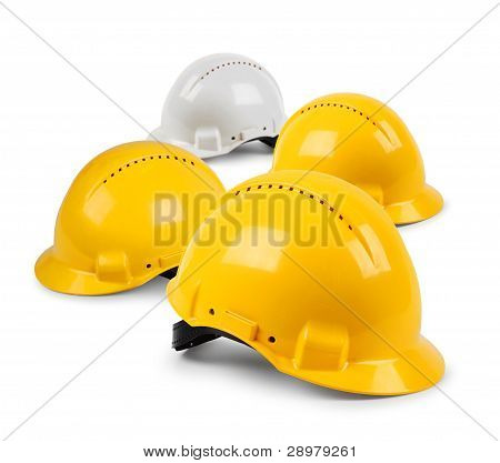 Four Hard Hat Team