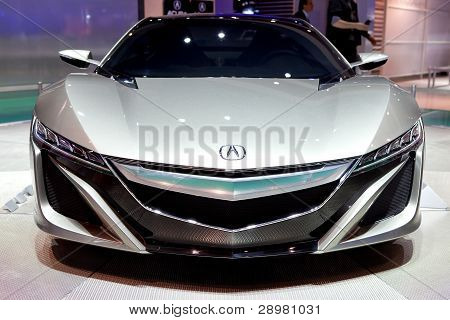 Acura Nsx Concept Front View 2012 Naias