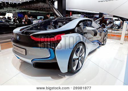 Bmw I8 Concept Electric 2012 Naias
