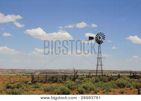 A Prairie Windmill