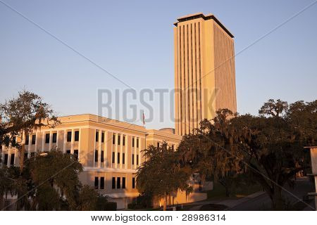 State Capitol Building In Tallahassee