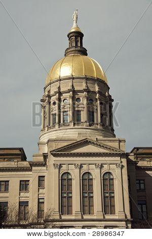 State Capitol Building In Atlanta