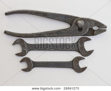 Antique Tool Set