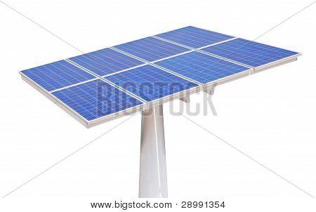Solar Zellen isoliert