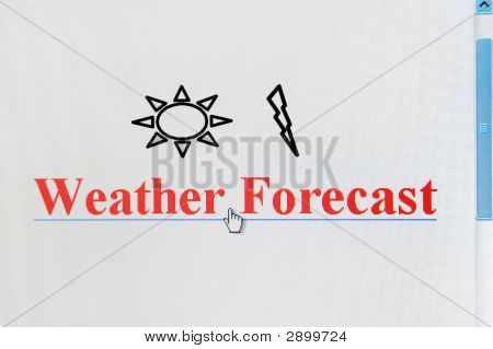 Weather Forecast Internet Link