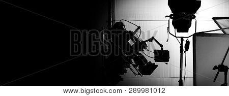 Behind Video Camera In Film