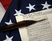 stock photo of betsy ross  - US Constitution - JPG