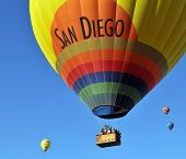 Welcome to San Diego, California - Temecula Balloon and Wine festival on June 7th, 2008