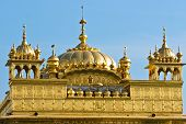 image of granth  - Details of Golden Temple in Amritsar Punjab India - JPG