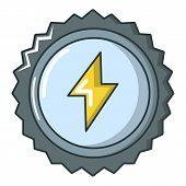 Energy Drink Cap Icon. Cartoon Illustration Of Energy Drink Cap Icon For Web poster