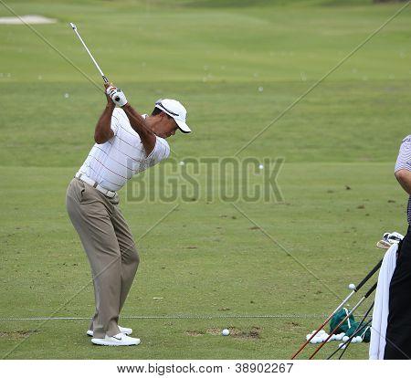 Tiger Woods no Campeonato jogadores 2012