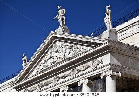 Pediment and Tympanum